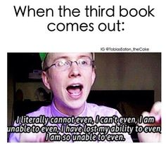 How I feel about Champion by Marie Lu, the third and final book in the Legend series. I LOVE IT!!!!