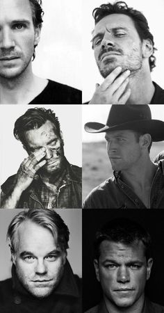 BLISS - friday pins || b & w portraits of stunning folks