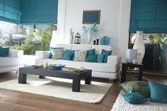 Love the blue-white theme