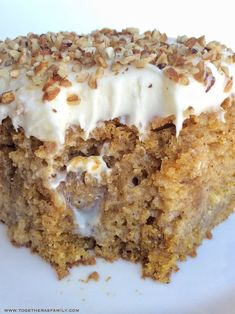 Pumpkin pie poke cake is a delicious pumpkin cake, soaked in a pumpkin spice sweetened condensed milk, and topped with a whipped cream cheese frosting. Poke Cake Recipes, Poke Cakes, Cupcake Cakes, Dessert Recipes, Cake Cookies, Fall Cake Recipes, Bundt Cakes, Cup Cakes, Dessert Ideas