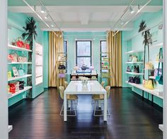Kate Spade & Jack Spade - New York City Offices - 4 Aqua Rooms, City Office, Jack Spade, Workplace Design, Retail Space, Lounge Areas, Modern Room, New Room, Showroom