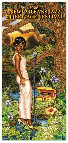 Jazz Fest 2008 -Time Is On Her Side:   A Portrait of New Orleans' Soul Queen  ( Irma Thomas)  by Douglas Bourgeois