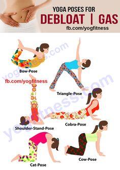Yoga Poses For Debloat