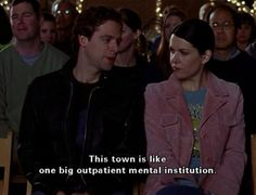charming life pattern: gilmore girls - quote - this town ...
