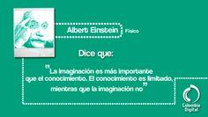 Nuestra frase del día por Albert Einstein