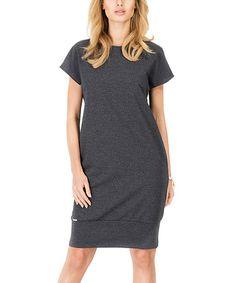 Another great find on #zulily! Graphite Shift Dress #zulilyfinds
