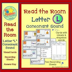 "This is a fun way to have students recognize and learn to distinguish where they hear the letter ""L"" consonant sound (at the beginning, middle or end of a word).  Used as a literacy station, printed cards on cardstock can be placed around the room at students height."