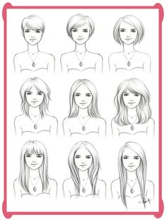 a guide to growing out your hair.  helpful for ideas so it's not always the same thing, long or short.