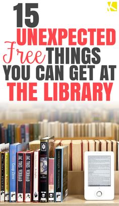 15 Unexpected Free Things You Can Get at the Library - The Krazy Coupon Lady Best Money Saving Tips, Ways To Save Money, Saving Money, Used Computers, Library Card, Free Things To Do, Financial Tips, Life Advice, Free Items