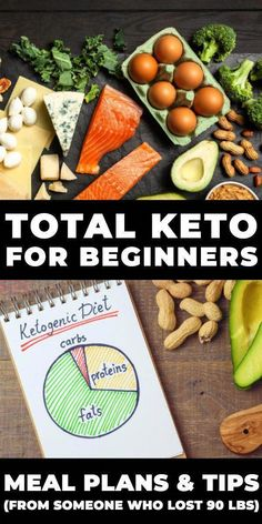 Total Keto Diet For Beginners. Looking for keto diet tips for beginners? I lost … Total Keto Diet For Beginners. Looking for keto diet tips for beginners? I lost 90 pounds on Keto & I put this Ketogenic Diet Guide… Continue Reading → Easy Keto Meal Plan, Ketogenic Diet Meal Plan, Ketogenic Diet For Beginners, Diet Plan Menu, Keto Diet For Beginners, Diet Meal Plans, Meal Prep, Ketosis Diet, Food Plan