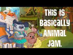 So This Is Basically Animal Jam. (Animal Jam Skit!)