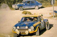 Rally Monte Carlo 1976 Verini su 124 Abarth ultima versione prima del pensionamento per far  spazio alla 131 Abarth