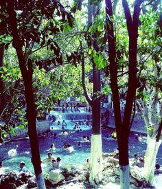 """Balneario """"Las Huertas"""" en #Morelos , #Mexico   #Travel #Places #Water"""