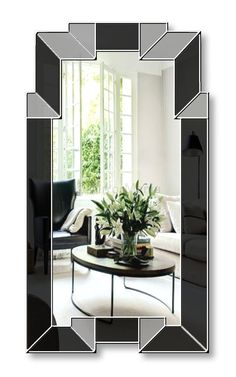 Biba Original Handcrafted Art Deco Mirror Range - Art Deco - Mirrors