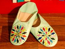 Moroccan Funky Slippers.