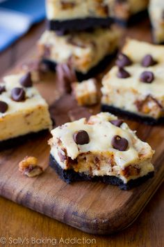 Snickers Cheesecake Bars - readers tell me this is the best dessert they've ever had.