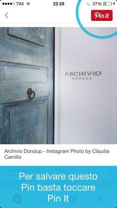 Una mia foto per Casa Dondup