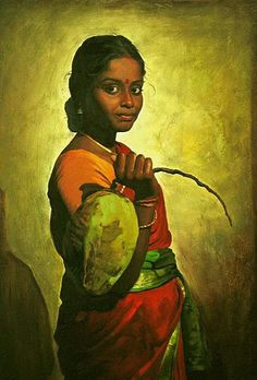 Fine Art and You: 30 Beautiful Paintings by S Ilayaraja Indian Artist, Indian Paintings, Female Art, Woman Painting, Beautiful Paintings, Indie Art, Digital Art Illustration, Painting Blog, Painting Of Girl