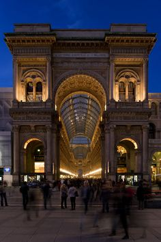 Galleria Vittorio Emanuele, named after the last king of Italy, is one of the many famous building of Milan. In the gallery, there are plenty of Italian brand shops....Prada, D and G