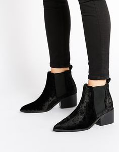 ASOS RIGHT ABOUT NOW Western Pointed Chelsea Ankle Boots - $69.00
