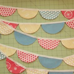 Scalloped Garland Tutorial from Craftiness is not Optional