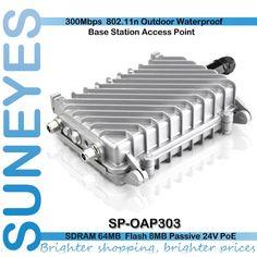 SunEyes SP-OAP303 300Mbs Wireless WiFi AP Outdoor Access Point Repeater bezdrôtové pripojenie k internetu pokrytie s 8dBi anténa