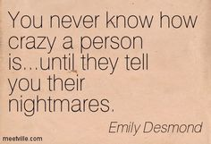 Funny Quotes About Nightmares