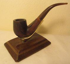 Vintage Royal House Ltd. Handmade Full Bent Estate Briar Tobacco Smoking Pipe