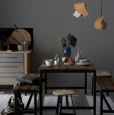 dining room--so simple.  love iy
