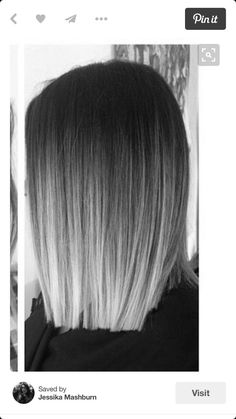 I want this ! – Frisuren – The Effective Pictures We Offer You About Ombre Hair ash A quality picture can tell you many things. You can find the most beautiful pictures that can be presented to you about Ombre Hair brown in this account. Black To Grey Ombre Hair, Red Ombre Hair, Hair Color Balayage, Gray Ombre, Silver Ombre Hair, Black And Silver Hair, Haircolor, Red Black, Violet Hair