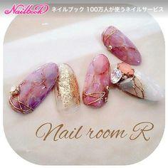 2015-2016Winter Nail design❁天然石nail|ネイルデザインを探すならネイル数No.1のネイルブック