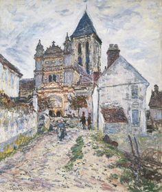 L'Eglise de Vétheuil (C Monet - W 474),1878.