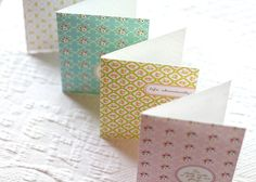 Delightful Distractions: PRINTABLE Spring Note Cards and Place Cards