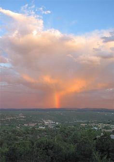 Rainbow, Monsoon Season, New Mexico  photo by Lynn Starner