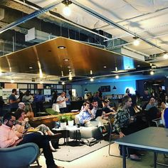 #HootupPHL featuring me speaking on social ROI