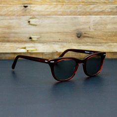 Cloak & Dapper - Freeway Brown Smoke Sunglasses - Provisions