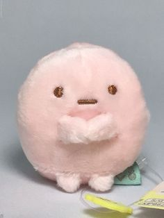 San-X Sumikko Gurashi Tapioka (tapioca) Tenori Small Plush Pink Doll Kawaii Toy