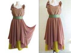 ethereal caramel & daring limette Ethereal, Caramel, High Low, Two Piece Skirt Set, Summer Dresses, Skirts, Fashion, Sticky Toffee, Moda