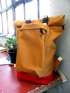 Rolltop backpack by http://timadam.com