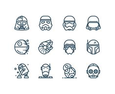 ¡Feliz Día de Star Wars! Lo celebramos con iconos gratis de La Guerra de las Galaxias