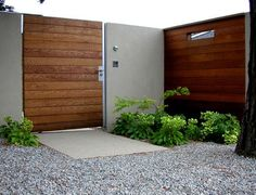 Elements of modern exterior entry
