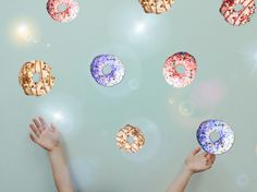 #Donuts #PicsArt #Collage