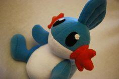 Pokémon  Mudkip Plush by Trinkety on Etsy