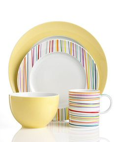 THOMAS by Rosenthal Dinnerware, Sunny Day Mix and Match Collection - Casual Dinnerware - Dining & Entertaining - Macy's