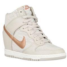 Nike dunk sky hi Bone/bronze <3