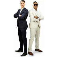 Cristiano Ronaldo And Anselmo Ralph ! ❤