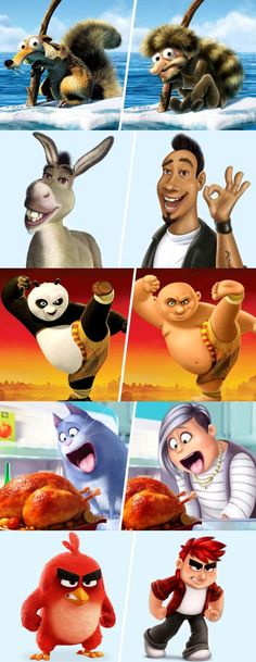 Artists Transform Cartoon Animals Into Real Life Humans!
