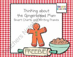 Thinking about the Gingerbread Man: FREEBIE! product from Smart-Charts on TeachersNotebook.com