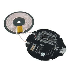 QI Standard Q3 Wireless Charger PCBA Circuits Board Micro USB Port DIY 5V Charger For Samsung