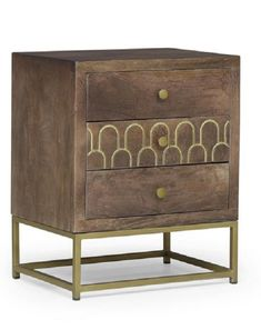Wooden Night Stand Contemporary 3 Drawer Nightstand, Scale Design, Sofa End Tables, Large Sofa, Furniture Deals, Living Room Furniture, Decorative Pillows, Solid Wood, Contemporary